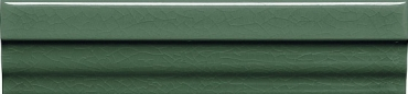 Бордюр Adex ADMO5223 Cornisa Clasica C/C Verde Oscuro 3,5x15 глянцевый