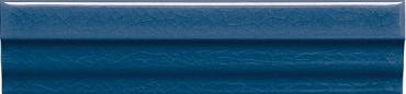 Бордюр Adex ADMO5224 Cornisa Clasica C/C Azul Oscuro 3,5x15 глянцевый
