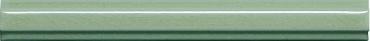 Бордюр Adex ADMO5267 Listelo Clasico C/C Verde Claro 1,7x15 глянцевый