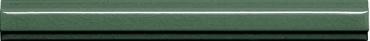 Бордюр Adex ADMO5268 Listelo Clasico C/C Verde Oscuro 1,7x15 глянцевый