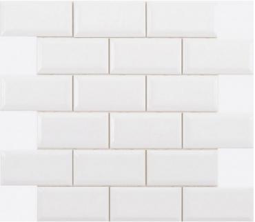 Декоративный элемент Adex ADNE2024 Biselado PB Blanco Z Enmallado 30,5x30,9 глянцевый