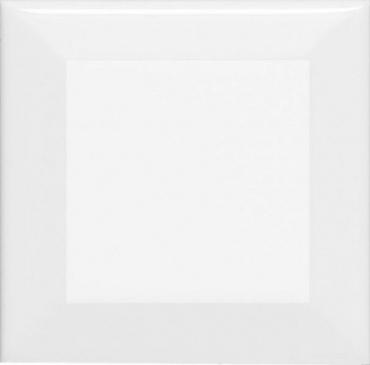 Плитка Adex ADNE2034 Biselado PB Blanco Z 7,5x7,5 глянцевая