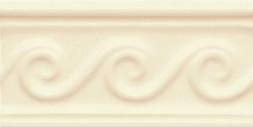 Бордюр Adex ADNE4067 Relieve Olas PB Biscuit 7,5x15 глянцевый