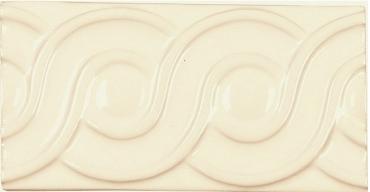 Бордюр Adex ADNE4114 Relieve Clasico Biscuit 7,5x15 глянцевый