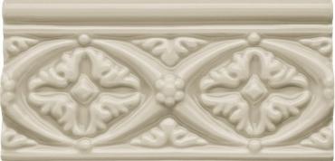 Бордюр Adex ADNE4133 Relieve Bizantino Sierra Sand 7,5x15 глянцевый