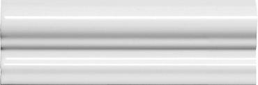 Бордюр Adex ADNE5140 Moldura Italiana PB Blanco Z 5x15 глянцевый