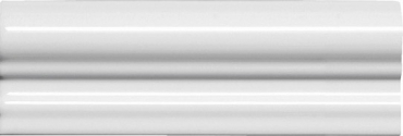 Бордюр Adex ADNE5170 Moldura Italiana PB Blanco Z 5x20 глянцевый