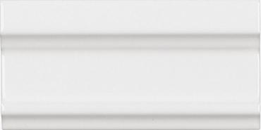 Бордюр Adex ADNE5324 Cornisa Clasica Blanco Z 7,5x15 глянцевый