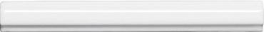 Бордюр Adex ADNE5354 Listelo Clasico Blanco Z 1,7x15 глянцевый
