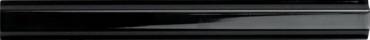 Бордюр Adex ADNE5419 Listelo Clasico Negro 1,7x15 глянцевый