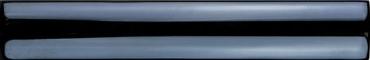 Бордюр Adex ADNE5420 Cubrecanto PB Negro 2,5x15 глянцевый