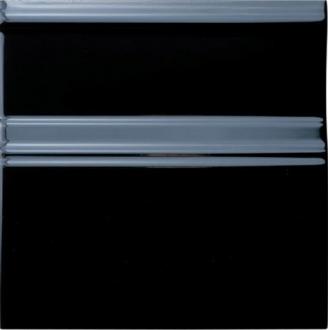 ADNE5438 Rodapie Clasico Negro