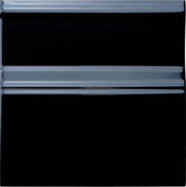 Бордюр Adex ADNE5438 Rodapie Clasico Negro 15x15 глянцевый