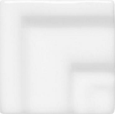 Вставка Adex ADNE5482 Angulo Marco Cornisa Clasica Blanco Z 3,5x3,5 глянцевая