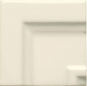 Вставка Adex ADNE5516 Angulo Marco Cornisa Clasica Biscuit 7,5x7,5 глянцевая