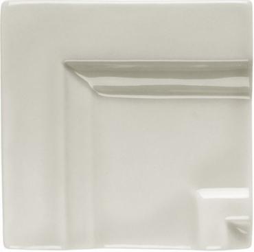 Вставка Adex ADNE5519 Angulo Marco Cornisa Clasica Silver Mist 7,5x7,5 глянцевая