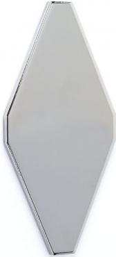 Плитка Adex ADNE8056 Rombo Liso Plata 10x20 матовая