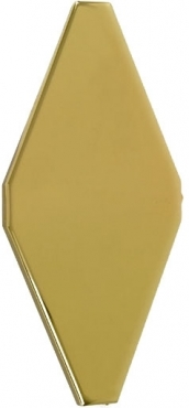 Плитка Adex ADNE8067 Rombo Liso Oro 10x20 матовая