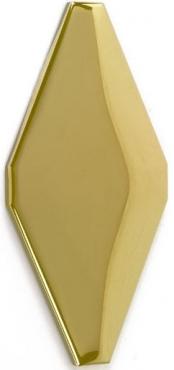 Плитка Adex ADNE8073 Rombo Acolchado Oro 10x20 глянцевая