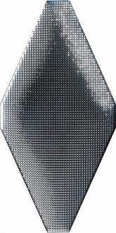 ADNE8094 Rombo Acolchado Micro Plata