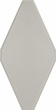Плитка Adex ADNE8121 Rombo Liso Silver Mist 10x20 матовая