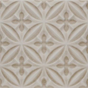Декоративный элемент Adex ADOC4003 Relieve Caspian Sand Dollar 15x15 глянцевый