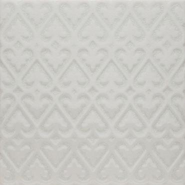 Декоративный элемент Adex ADOC4006 Relieve Persian White Caps 15x15 глянцевый