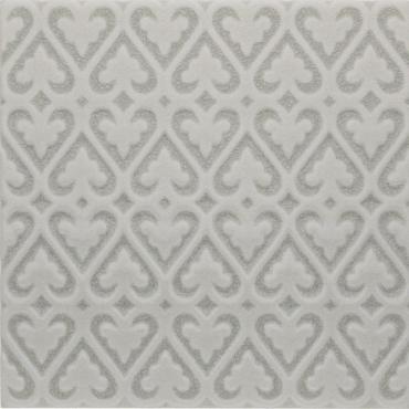 Декоративный элемент Adex ADOC4008 Relieve Persian Surf Gray 15x15 глянцевый