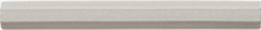Бордюр Adex ADOC5044 Listello White Caps 1,7x15 глянцевый