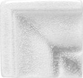 Вставка Adex ADOC5072 Angulo Marco Cornisa White Caps 3x3 глянцевая