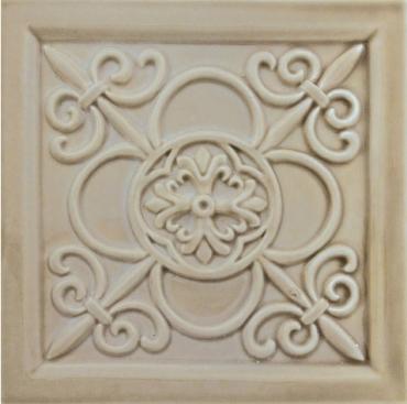 Декоративный элемент Adex ADST4030 Relieve Vizcaya Sands 14,8x14,8 глянцевый