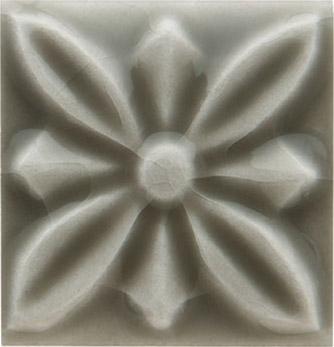 Вставка Adex ADST4056 Relieve Flor № 1 Eucalyptus 3x3 глянцевая