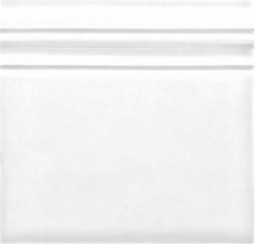Бордюр Adex ADST5100 Rodapie Snow Cap 14,8x14,8 глянцевый