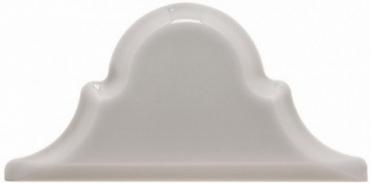 Плитка Adex ADST8014 Arabesco Biselado Remate Greystone 7,5x15 глянцевая