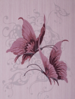 Астерия лиловый декор 04