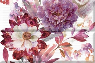 Aure Composicion Savage Flowers Berenjena 02