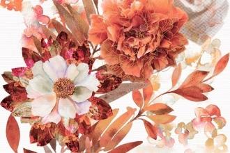 Aure Composicion Savage Flowers Marron 02