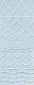 Авеллино голубой структура mix 16015