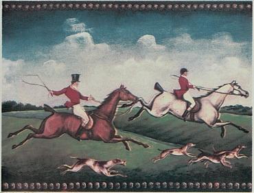 Декоративный элемент Petracers B fox hunting b 15x20 матовый