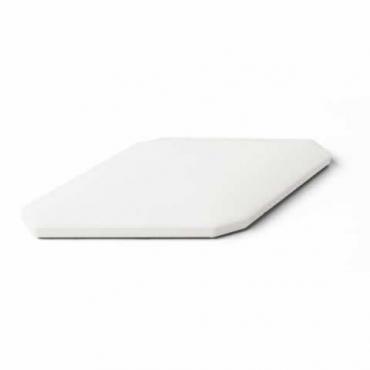Плитка Petracers Bianco Rombo Bombato 10x20 глянцевая