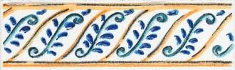Бордюр Капри майолика STG\A493\1146