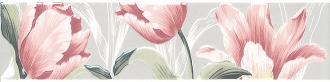Бордюр Норфолк Цветы серый STG\A270\11000