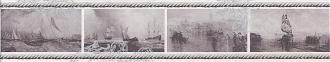 Бордюр Ньюпорт Корабли фиолетовый STG/C209/15010