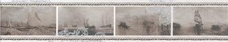 Бордюр Ньюпорт Корабли коричневый STG/A209/15010