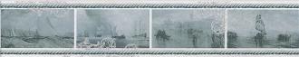 Бордюр Ньюпорт Корабли зеленый STG/B209/15016