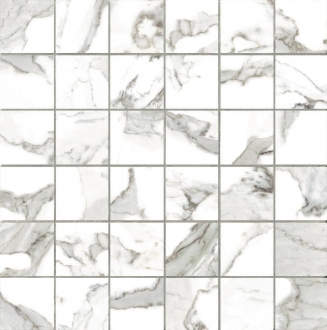 Calacatta Vi. Mosaico 5x5