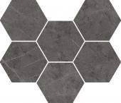 Charme Evo Antracite Mosaico Hexagon