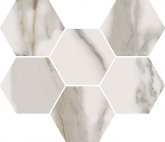 Charme Evo Calacatta Mosaico Hexagon