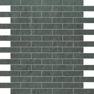 Creta Fango Brick Mosaico