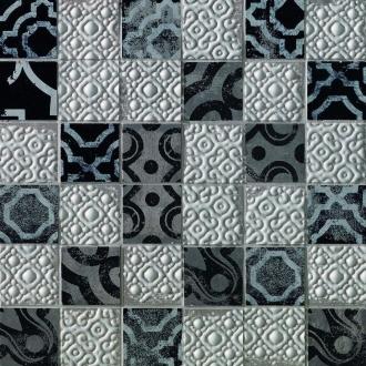 Creta Maiolica Grey Mosaico